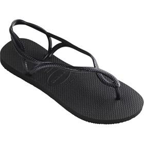 havaianas Luna Sandalen Dames, black